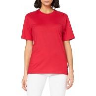 Trigema Damen T-Shirt 538202 Rot Kirsch 036 Bekleidung