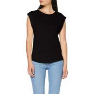Urban Classics Damen T-Shirt Ladies Basic Shaped Tee Basic T-Shirt für Frauen mit gekürzten Ärmeln in 6 Farben Größen XS - 5XL Bekleidung