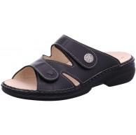 Finn Comfort Damen Pantolette TORBOLE 2571 schwarz Schuhe & Handtaschen