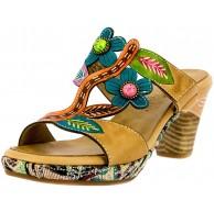 Laura Vita Damen Beclforto 09 Pantoletten Schuhe & Handtaschen