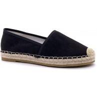 Angkorly - Damen Schuhe Espadrilles - Bequeme - Slip-On - Basic - Basic - mit Stroh Flache Ferse 2.5 cm Schuhe & Handtaschen