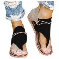 Boho Sandalen Damen Bohemian Flach Zehentrenner Frauen Flip Flops Sommer Strand Schuhe Bequeme Sommerschuhe Schöne Zehenstegsandalen Celucke Schuhe & Handtaschen