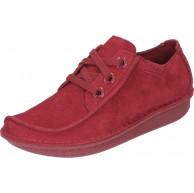 Clarks Damen Funny Dream Derbys Rot Red Suede 37 EU Schuhe & Handtaschen