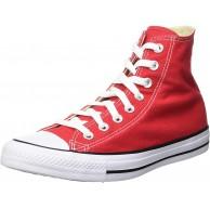 Converse Chuck Taylor All Star Unisex-Erwachsene Hohe Sneakers Rot Red EU 46 EU Schuhe & Handtaschen