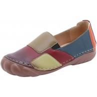 DAIFINEY Damen Mokassin Slipper Loafers Einfarbiger Comfort Schuhe Hüttenschuhe Schlupfschuh Slip on modisch Freizeitschuh Schuhe & Handtaschen
