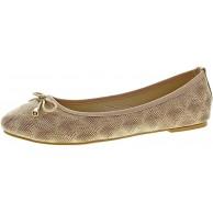 Damen Ballerinas Muster flach Sommer Schuhe Zierschleife Slipper Sandalen Gr. 36-42 Schuhe & Handtaschen