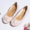 Damen Geschlossene Ballerinas Flache Schuhe mit Schleife Frauen Weich Mokassins Bequeme Loafer Elegante Slipper Casual Slip-Ons Schöner Damenschuhe Celucke Schuhe & Handtaschen