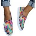Dorical Damen Bootsschuhe Leinwand Loafers Erbsenschuhe Flache Halbschuhe Schön Fahren Sandalen Slip On Schuhe Freizeitschuhe Sommerschuhe Schnürschuhe Schuhe & Handtaschen