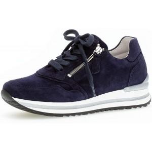 Gabor Damen Low-Top Sneaker Frauen Schnürhalbschuhe lose Einlage Mehrweite H Schuhe & Handtaschen
