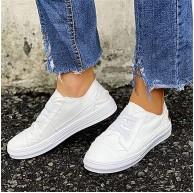 Hwcpadkj Frauen Flache Schuhe Espadrille Schuhe Slip on Gehen Runing Sneaker Loafer beiläufige Schuhe mit Leopardenmuster und Gummiband Schuhe & Handtaschen