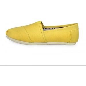 LJT Unisex leinwand Schuhe-lässig Sport Flache Schuhe leichte atmungsaktive Laufschuhe Reine Farbe spazieren Espadrille Schuhe weiche Sohle komfortable treibschuhe passend faul Schuhe & Handtaschen
