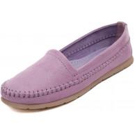 MISSMAO Damen Mokassin Wildleder Loafers Schuhe Flache Fahren Halbschuhe Slippers Schuhe & Handtaschen