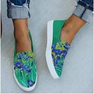 MTHDD Frauen Schuhe Espadrilles Damen Turnschuhe Flache Schuhe Freizeitschuhe Lazy Lok Fu Slip-On-Schuhe Schuhe & Handtaschen