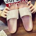 NPRADLA Flip Flop Sandalen Sliper Zehentrenner Damen Frauen Flache Dias Der Diamante Sparkly Sliders Bunte DiamanthausschuheGr.36-41 Schuhe & Handtaschen