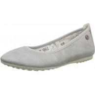 s.Oliver Damen 22129 Geschlossene Ballerinas Grau Grey Antic 218 38 Schuhe & Handtaschen