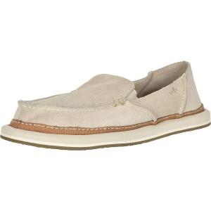 Sanuk Damen Donna Artesano Loafer flach Beige Natur 39 EU Schuhe & Handtaschen