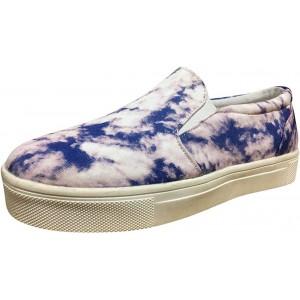 Slip On Sneaker Damen Leder Loafer Plateau Mokassins Bequeme Leicht Slipper Weich Halbschuhe Atmungsaktive Freizeit Schuhe Celucke Schuhe & Handtaschen