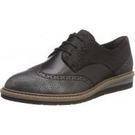 Tamaris Damen 23200 Oxfords Schwarz Black Comb 098 39 EU Schuhe & Handtaschen