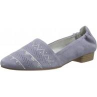 Tamaris Damen 24224 Slipper Blau Denim 802 41 Schuhe & Handtaschen