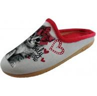 ALBEROLA Hausschuh Pantoffel Katze A4844 Schuhe & Handtaschen
