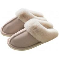 CAGAYA Hausschuhe Damen Winter Warm Gefüttert Kunst Pantoffeln Slipper rutschfest Memory Foam Gemütliche Pantoffeln Schuhe & Handtaschen