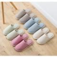Damen Hausschuhe Memory Foam Weiche Wärme Pantoffeln rutschfeste Hause Slippers Indoor hellgrün 42-43 EU Schuhe & Handtaschen