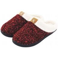 DoGeek Hausschuhe Herren Pantoffeln Damen Plüsch Hausschuhe Winter Slipper Cotton Home Filzpantoffel Schuhe & Handtaschen