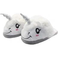 FRALOSHA Einhorn Hausschuhe Mädchen Plüsch Slippers Damen Indoor Warme Tier Pantoffeln Schuhe & Handtaschen