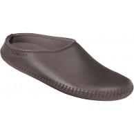 HAFLINGER Da-Elchleder-Pantoffel Taupe Gr.37 - 1411502 Taupe GR. 37 Schuhe & Handtaschen