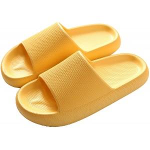 KKLDB Damen Duschen Badeschuhe Plattform Hausschuhe Outdoor rutschfest Slippers dickbesohlte Badeschuhe Unisex Bade Latschen Schuhe & Handtaschen