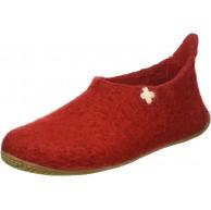 Living Kitzbühel Slipper Schweizer Kreuz Pantoffeln Rot Rot 350 37 EU Schuhe & Handtaschen