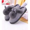 LSDQ Damen Herren Paar Herbst Winter Wärme Hausschuhe Plüsch Pantoffeln Süße Häschen Pantoffeln rutschfest Pantoffeln für Indoor Outdoorgrey-38 39 Schuhe & Handtaschen