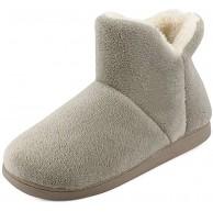 MK MATT KEELY Frauen Slipper Stiefel Männer Kunstpelz Futter Bootie Hausschuhe Kinder Warme Winter Familie Passenden Schuhe Schuhe & Handtaschen