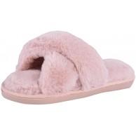 MoneRffi Hausschuhe Damen Plüsch Flauschige Pelz Hausschuhe Memory Foam Hausschuhe Offene Zehen Winte Warme Anti-Rutsch-Innen Indoor Outdoor Flache Flip Flops Gemütliche Hausschuhe für Frauen MoneRffi Schuhe & Handtaschen