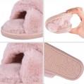 MUYOGRT Hausschuhe Damen Plüsch Pantoffeln Warmeln Indoor Home Leicht Slippers rutschfeste Bequem Flache Slippers MUYOGRT Schuhe & Handtaschen