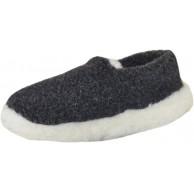 SamWo Schafwoll-Wohlfühl-Hausschuh Pantoffeln Unisex weiche rutschfeste Sohle 100% Schafwolle Größe 37-48 Schuhe & Handtaschen