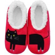 SUSTYLE Flauschige Hausschuhe für Frauen Warme Hausschuhe für Frauen - Katze Schuhe & Handtaschen