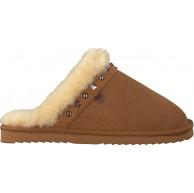 Warmbat Hausschuhe Flurry Women Studs Cognac Damen - 39 EU Schuhe & Handtaschen