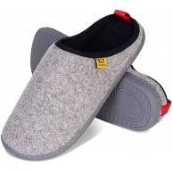WateLves Hausschuhe Herren Damen Pantoffeln Filzpantoffeln im Herbst und Winter Pantoletten Slipper Unisex mit rutschfest Sohle Filzlatschen Schuhe & Handtaschen