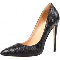 AOOAR Damen Animal-Print Stiletto Pumps Schuhe & Handtaschen