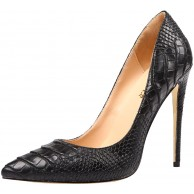 AOOAR Damen Animal-Print Stiletto Pumps Schuhe & Handtaschen