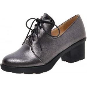 COOLCEPT Damen Schnürhalbschuhe Schuhe & Handtaschen