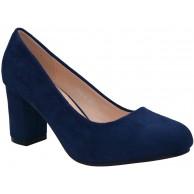 CucuFashion Pumps für Damen Bequeme Schlupfschuhe für Damen Blockabsatz Schuhe Damenschuhe Pumps 36-42 Schuhe & Handtaschen