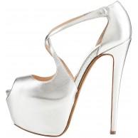 elashe Damen Open Toe Plateau Stiletto | 15cm High Heel Pumps Schluepfen Knöchel Cross Strap Buckle Party Schuhe Schuhe & Handtaschen