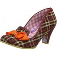 Irregular Choice Damen Kanjanka Pumpe Schuhe & Handtaschen