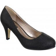 King Of Shoes Damen Klassische Pumps mit Pfennigabsatz Hochzeit Schuhe & Handtaschen