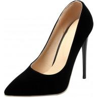 KISSYAYA Damen Pumps Pointed Toe Stiletto Absatz für Hochzeit Schuhe & Handtaschen