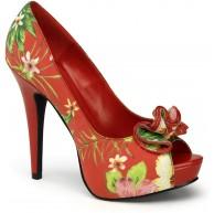 Pin Up Couture LOLITA-11 Damen Plateau Pumps Schuhe & Handtaschen