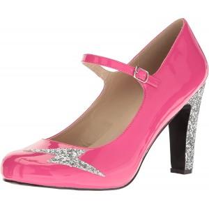 Pleaser Pink Label Damen Queen-02 Kleid Pumpe Schuhe & Handtaschen