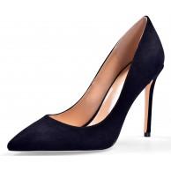 Sioreelady Damen Frauen Klassische High Heel Pumps Sexy Geschlossene Spitze Zehe 10CM Basic Slip On Stiletto Heels Schuhe Schuhe & Handtaschen